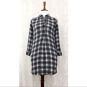 ✌️Madewell Plaid Shirt Dress